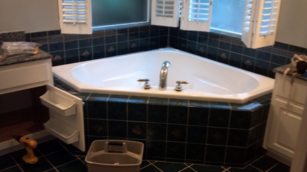 Camden county bathroom remodel before