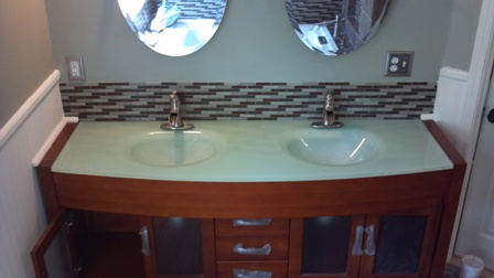 Camden county bathroom remodel